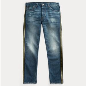 NWT Polo Ralph Lauren Side Stripe Jeans